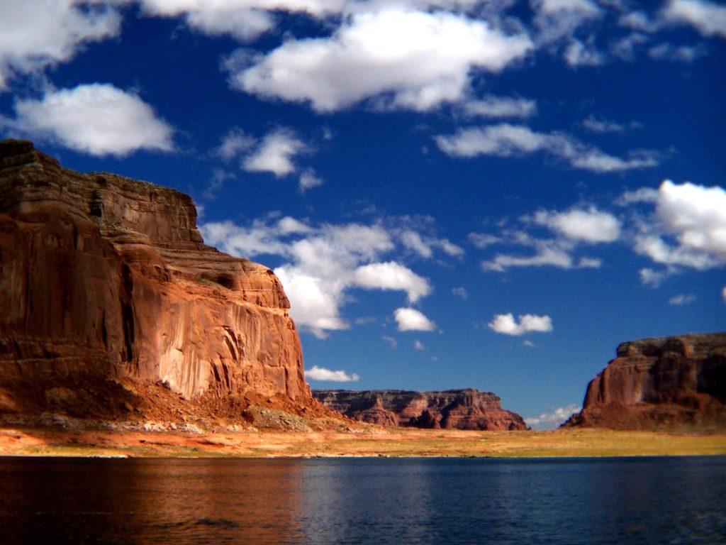 Озеро Пауэлл на реке Колорадо