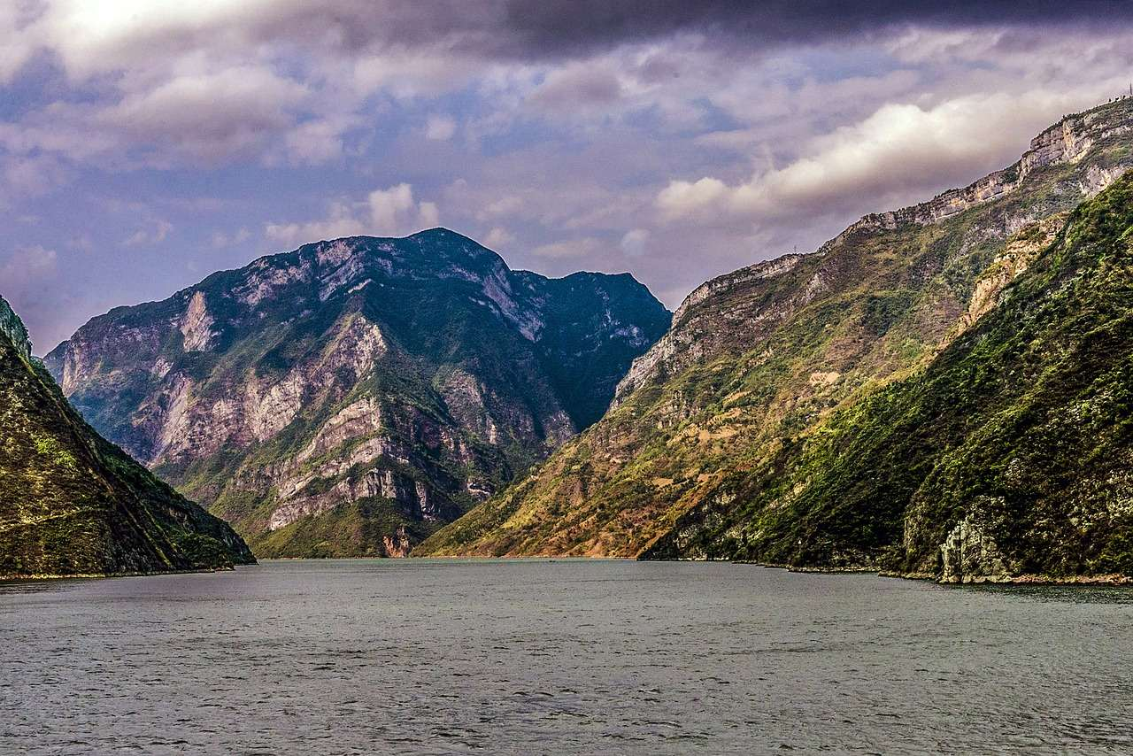 Янцзы река в Китае