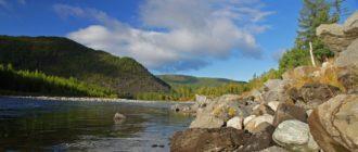 река Саянская Ока в Иркутской области