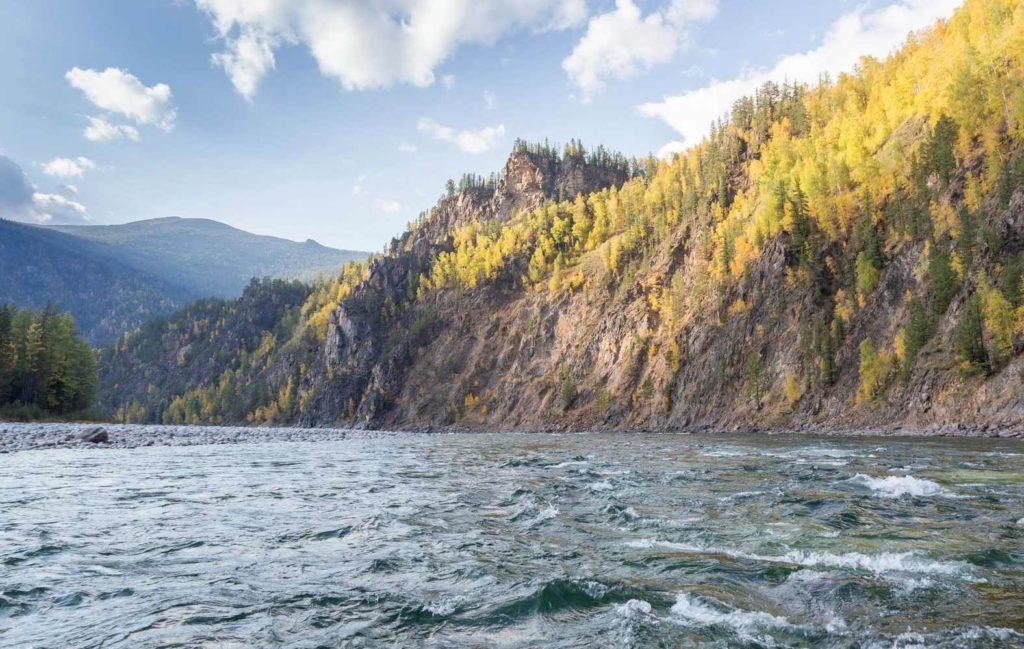 река Ока в Иркутской области