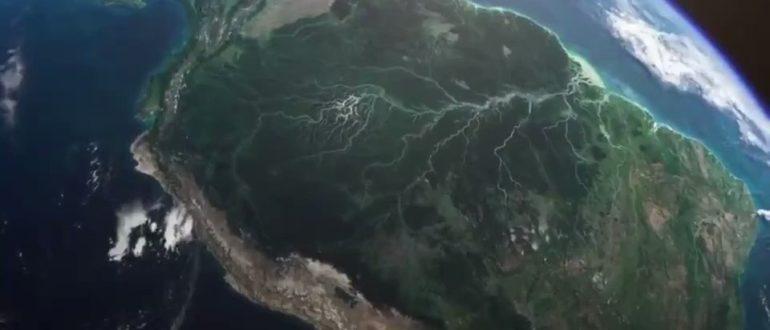 Река Амазонка крупнейшая река в Южной Америке